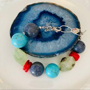 Emily Ray Chunky Stone Bracelet
